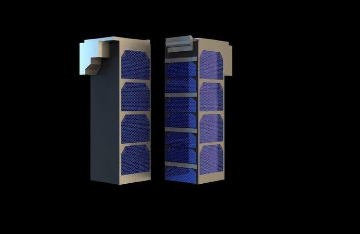 Тройной блок спутника Cubesat