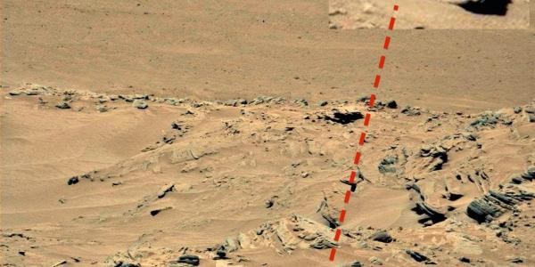 туловище на марсе