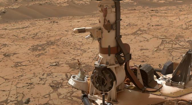 curiosuty марс