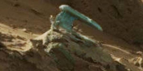 предмет необычной формы на марсе