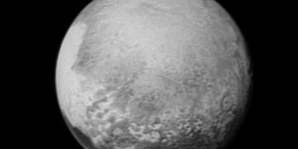 Плутон с расстояния в 2,5 миллиона километров