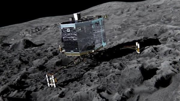 Зонд Филе на комете 67Р