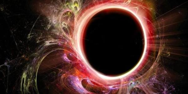 черная дыра представление художника
