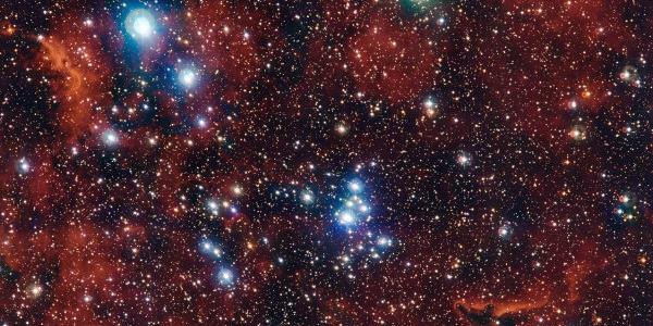 Красочные звездное скопление NGC 2367