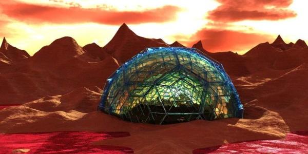 Купол на Марсе