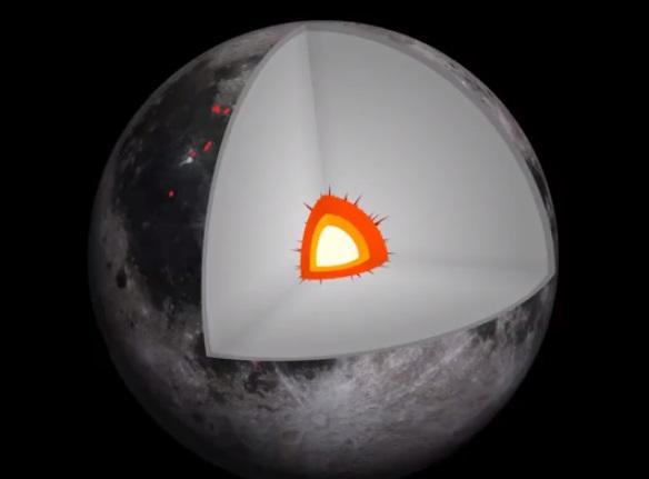 Вулканы на Луне