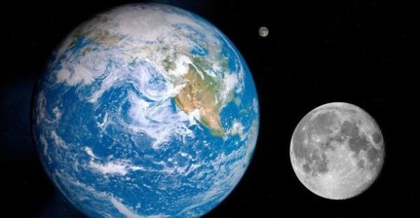 Земля и две луны