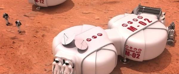 Модульные жилища на Марсе