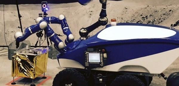 Управляемый из космоса робот