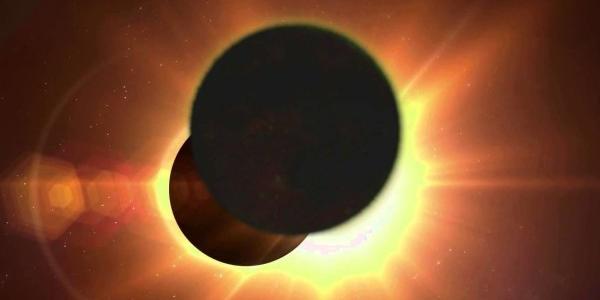 Затмение Солнца двойное