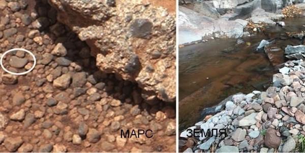 Галька на Марсе
