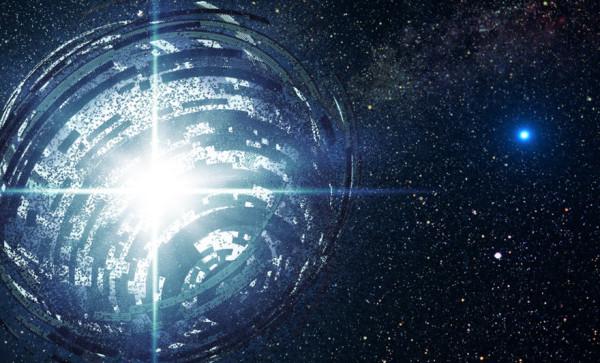 Инопланетная мегаструктура вокруг звезды