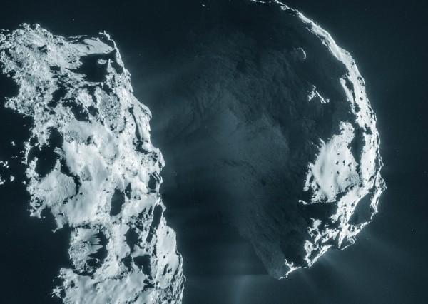Кислород на комете Чурюмова - Герасименко