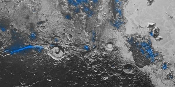 Вода на Плутоне