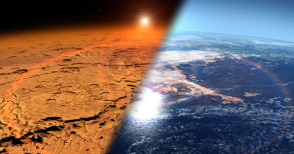 Атмосфера Марса прошлое и настоящее