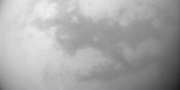 Дюны и дождливая погода на Титане