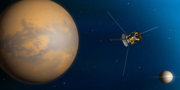 Кассини Титан Сатурн