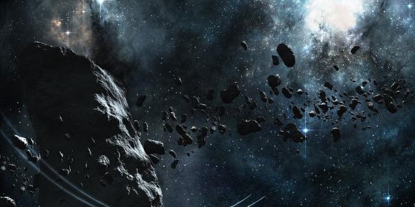 Космический метеорит