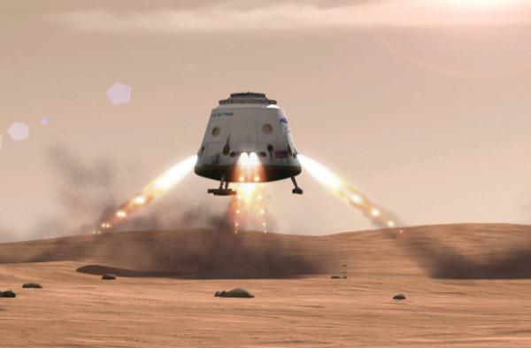 Приземление человека на Марс