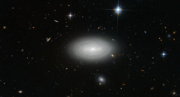 Самая одинокая галактика во Вселенной