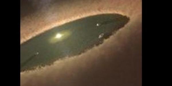 Создание планеты звездой