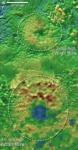Вулканы на Плутоне