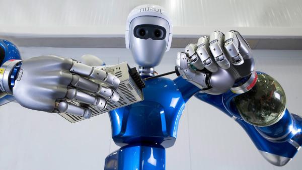 Работающий робот