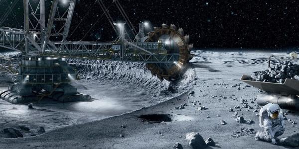 Добыча полезных ископаемых в космосе