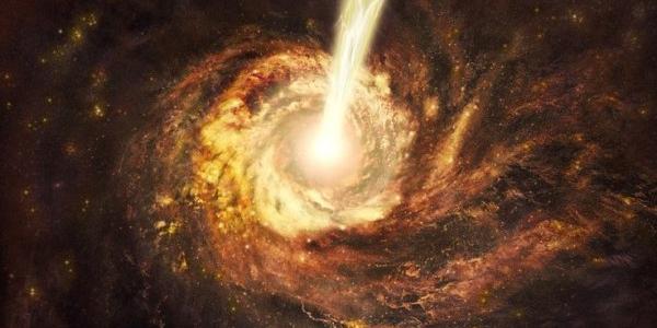Джет черной дыры