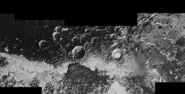 Новые горизонты новые фото Плутона