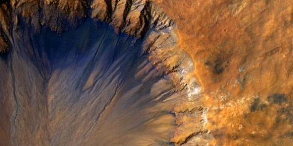 Овраги на Марсе