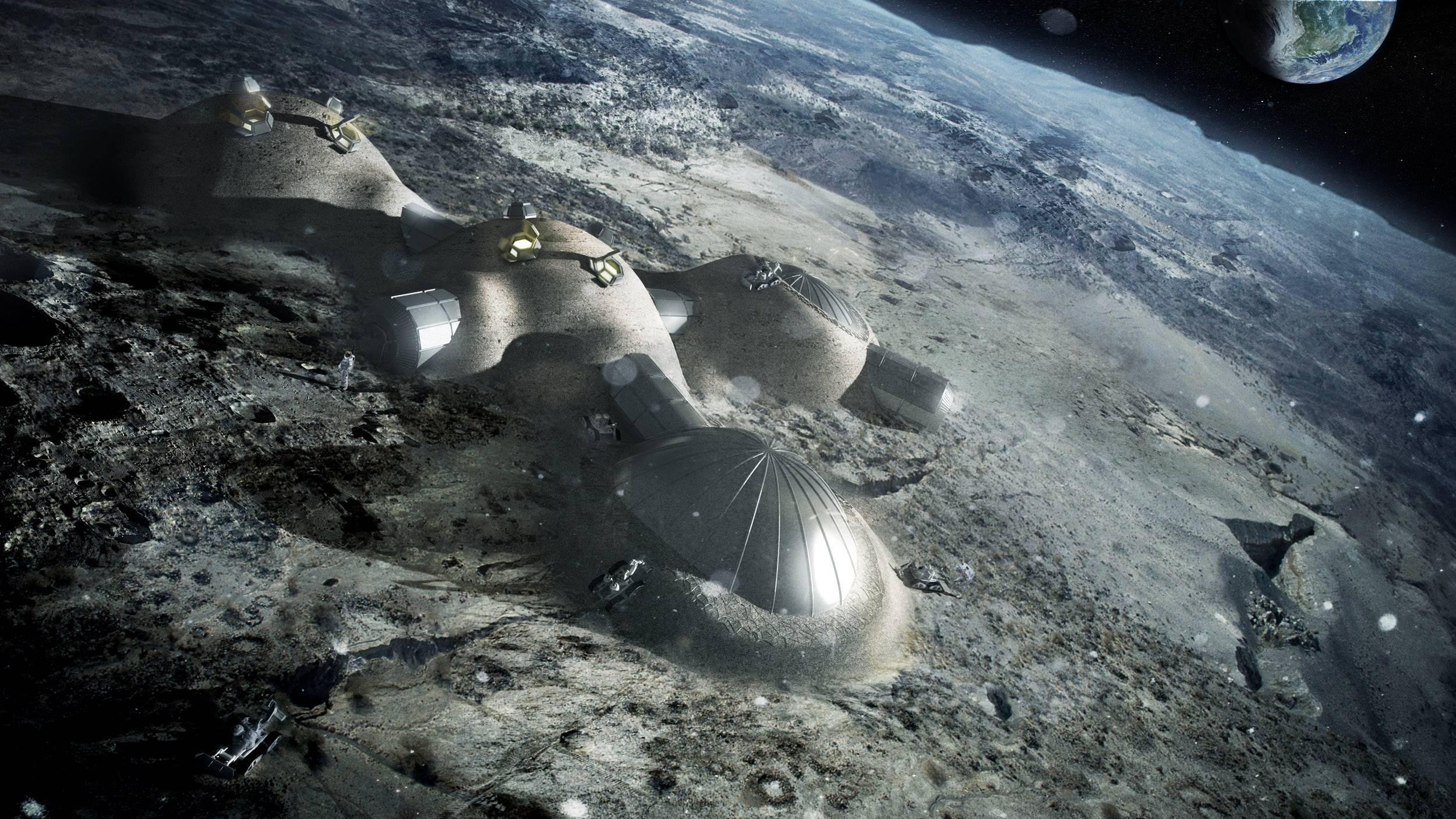 Роскосмос оценил затраты на лунную программу в 205 млрд рублей