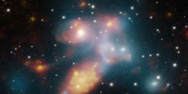 квинтет галактик Стефана