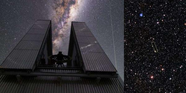 Млечный путь старая звезда