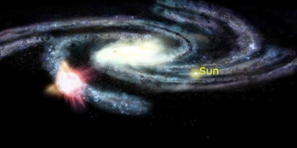 Облако Смита и Млечный путь