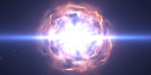 Самая яркая суперновая