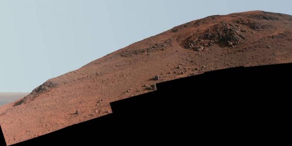 Хребет Кнуденсена на Марсе снимок марсохода Opportunity