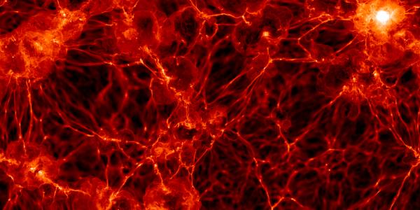 Структура Вселенной распределение нормальной материи