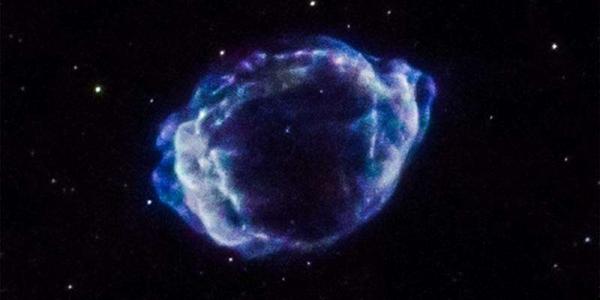 Взрыв сверхновой G1.9 + 0.3