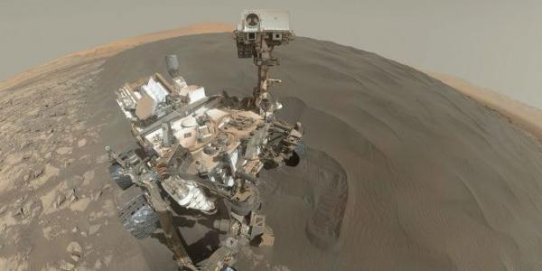 Curiosity на Марсе