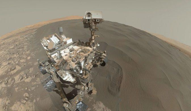 Curiosity продемонстрировал  миллиарды лет формирования Марса