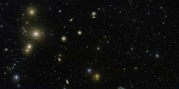 Скопление галактик Печь