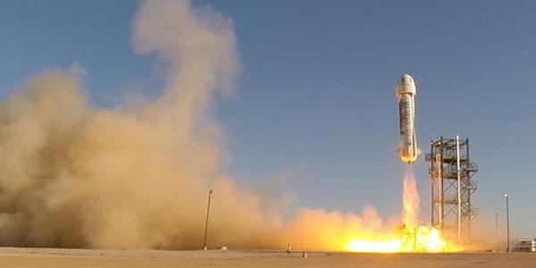 Успешная посадка Blue Origin