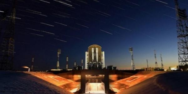 Запуск с космодрома Восточный