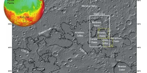 Марсианские озера