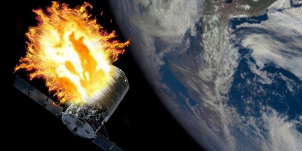 Космический грузовик сгорел в атмосфере