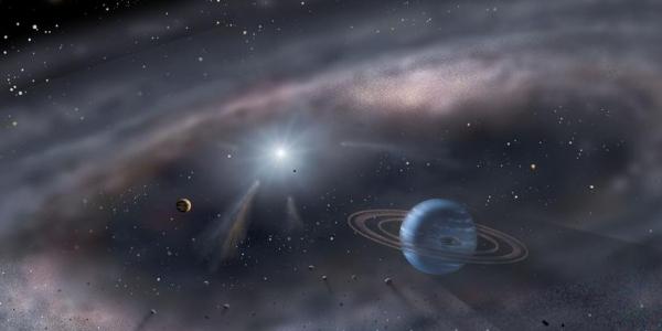 Молодая экзопланета