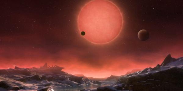 Звезда TRAPPIST 1