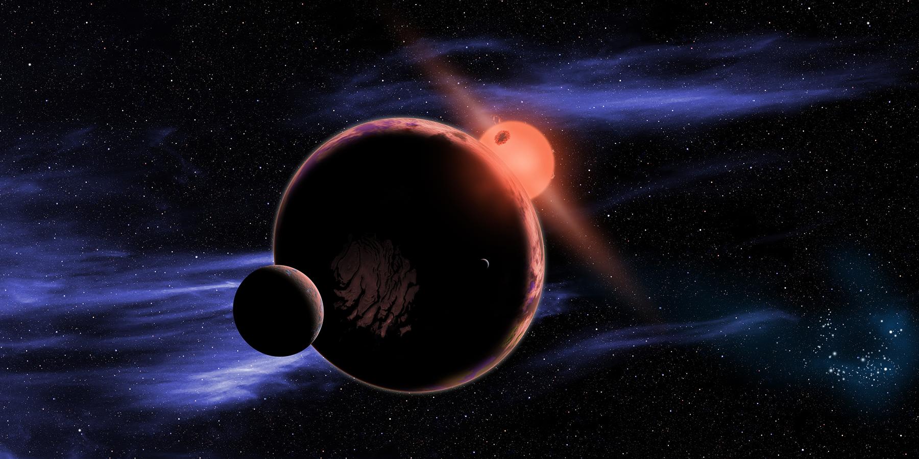 Астрономы обнаружили свехплотную и«раздутую» планету класса юпитеров