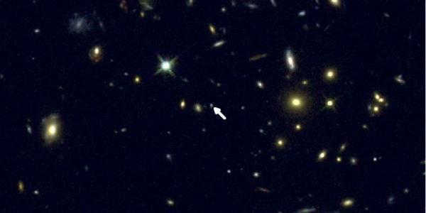 Галактика COSMOS-1908